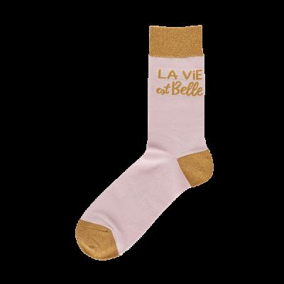 Chaussettes La vie est belle
