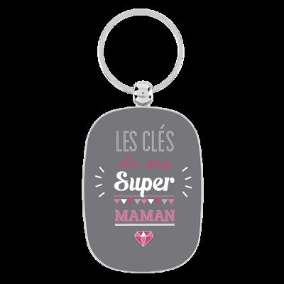 Porte-clés Ma super maman