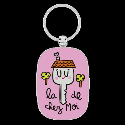 Porte-clés La clé de chez moi