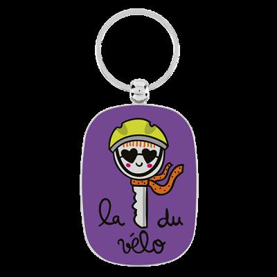 Porte-clés La clé du vélo