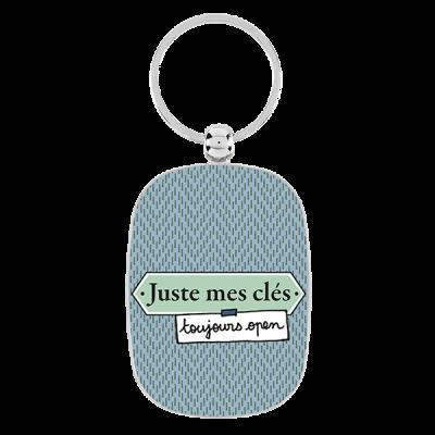 Porte-clés Juste mec...