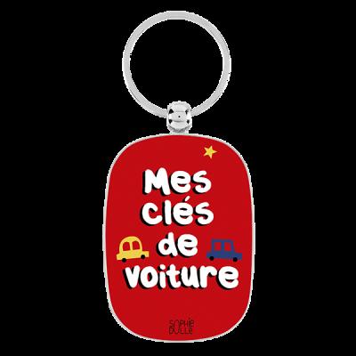 Porte-clés Mes clés de voiture