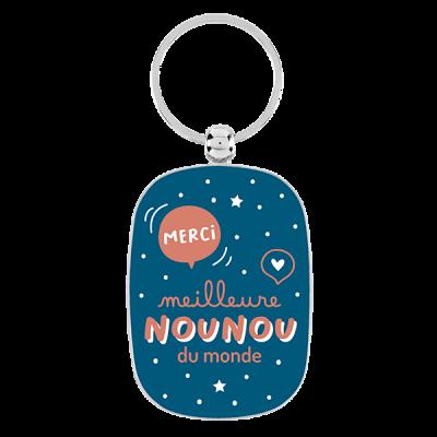 Porte-clés Meilleure nounou...