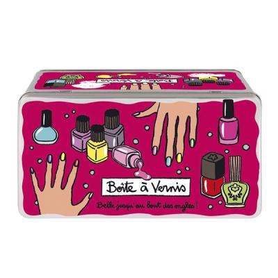 Boîte à vernis Bout des ongles