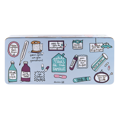 Boîte à médicaments Famille...