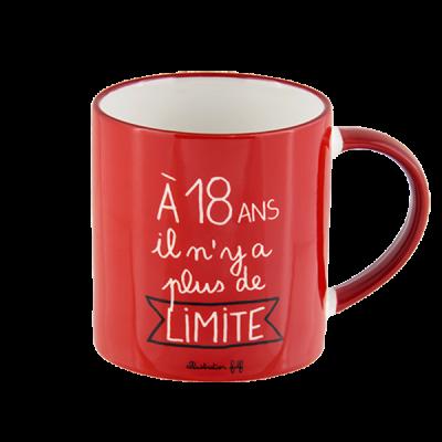 Mug (+ boite) 18 ans