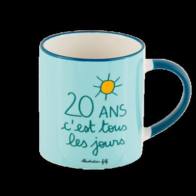 Mug (+ boite) 20 ans