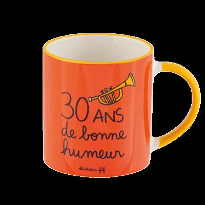 Mug (+ boite) 30 ans