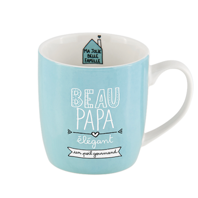 Mug (+ boite) Beau-papa...