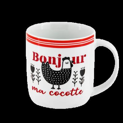 Mug Bonjour ma cocotte