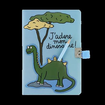 Carnet intime Mon dinosaure