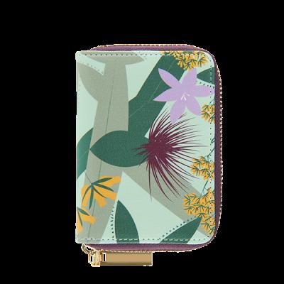 Porte-cartes Fleurs exotiques
