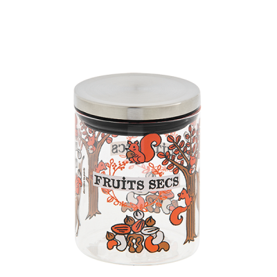 Bocal à fruits secs Écureuils