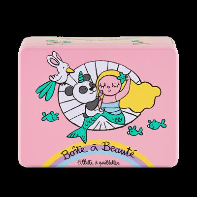 Boîte à beauté Fillette à...