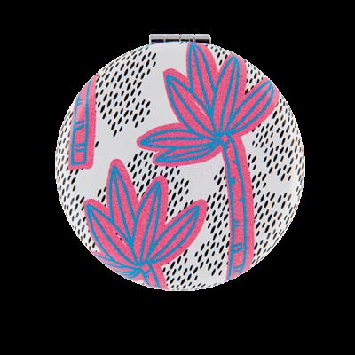 Miroir de poche Palmiers