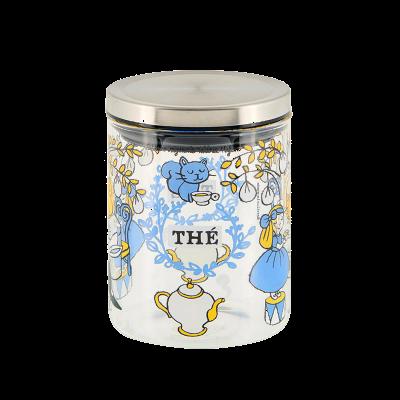 Bocal à thé Chat