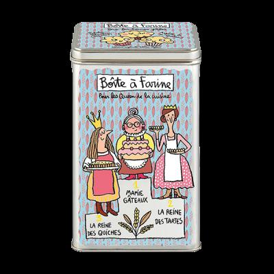 Boîte à farine Podium