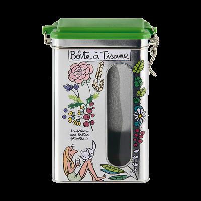 Boîte à tisanes Plantes