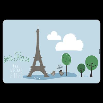 Set de table Joli Paris