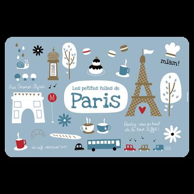Set de table folies de Paris