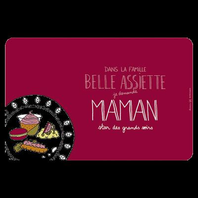 Set de table Belle assiette...