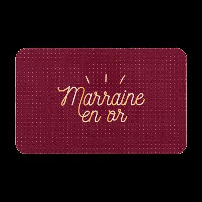 Planche à tartiner Marraine...