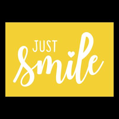 Magnet just smile jaune