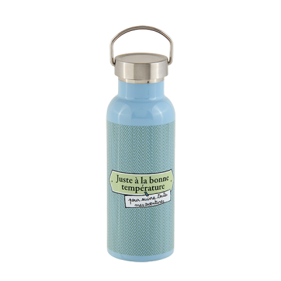 Bouteille isotherme Juste mec
