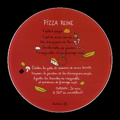 Plat à pizza (+ roulette)...