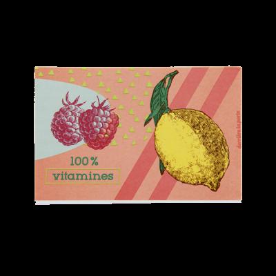 Porte-éponge Vitamines